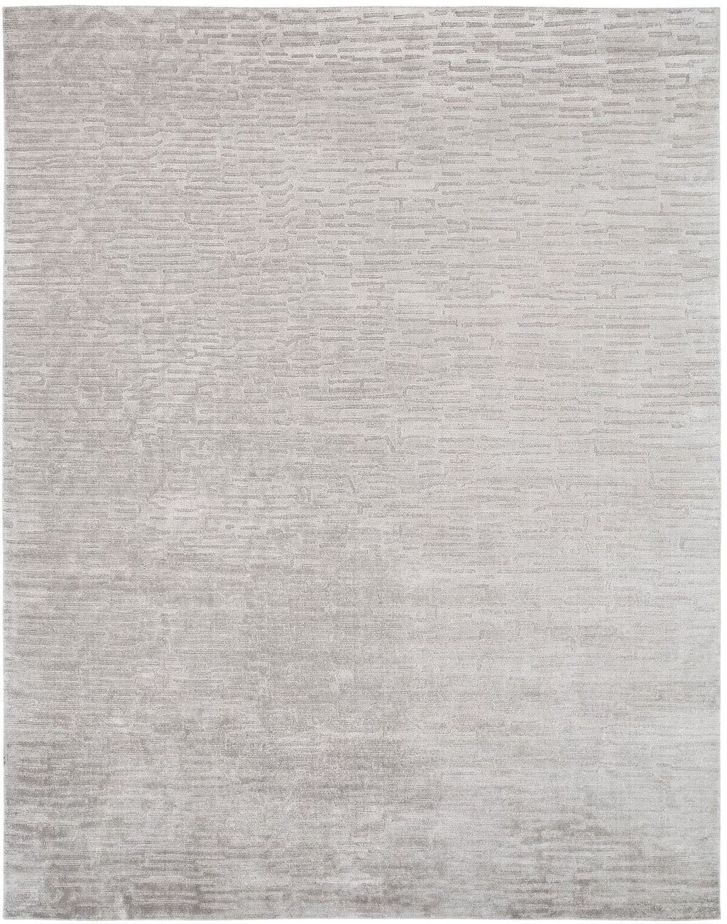 Mirage Pearl Grey Hand-Knotted Area Rug - AllRugs