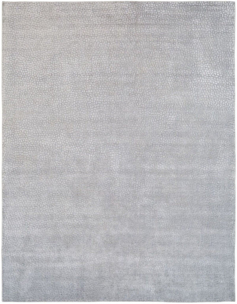 Mirage Mineral Grey Hand-Knotted Area Rug - AllRugs