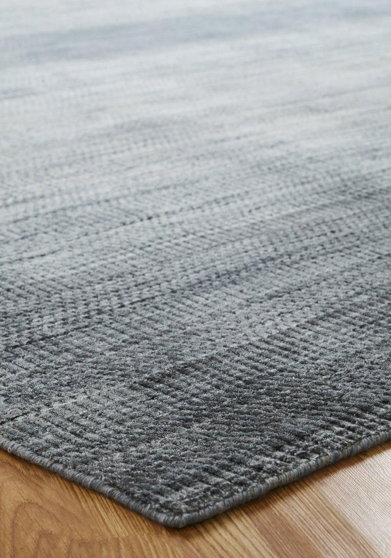 Synapse Tonal Blues Hand-Loomed Area Rug