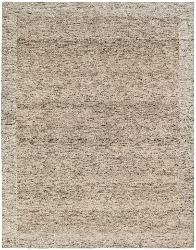 Terzo Warm Brown Hand-Tufted Area Rug - AllRugs