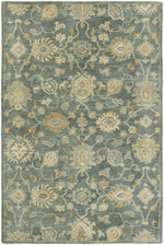 Load image into Gallery viewer, Libra Mineral Blue Hand-Knotted Area Rug - AllRugs