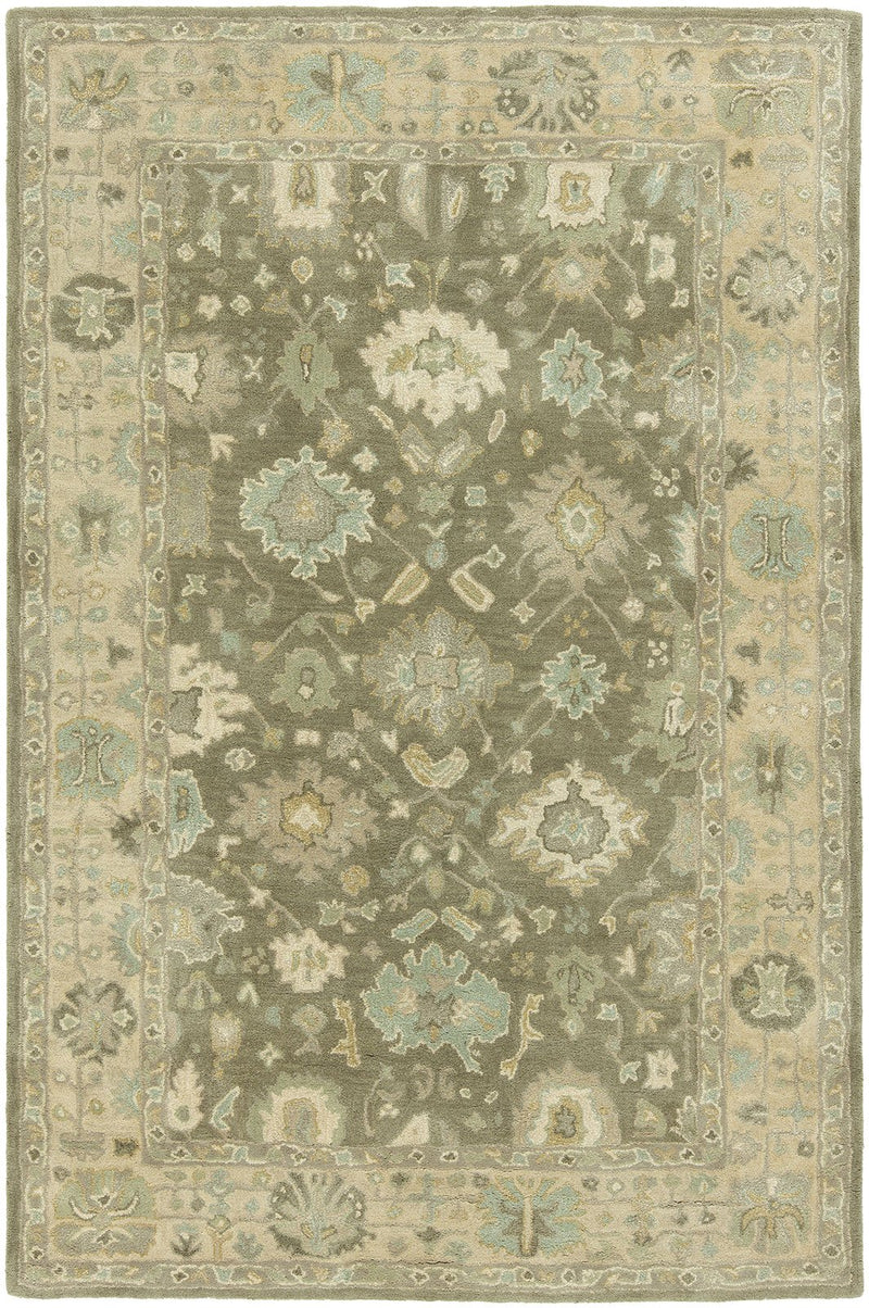 Libra Driftwood Hand-Knotted Area Rug - AllRugs