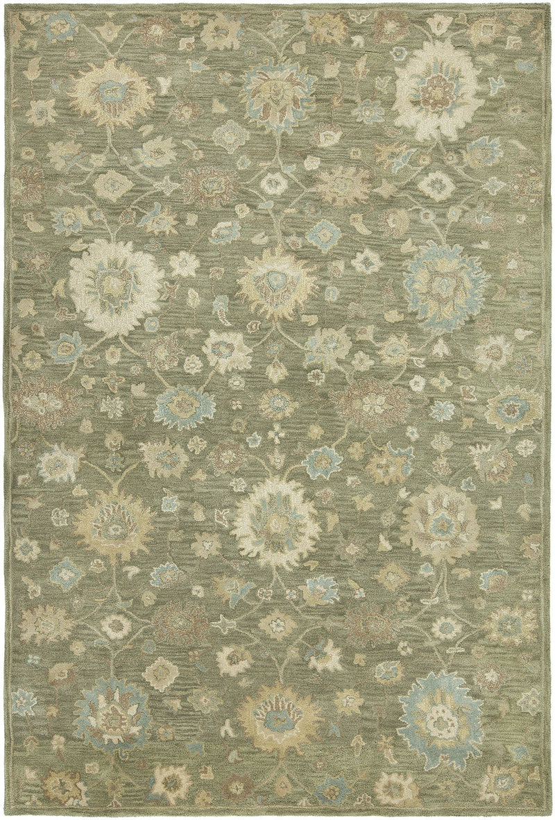 Libra Rosemary Hand-Knotted Area Rug - AllRugs