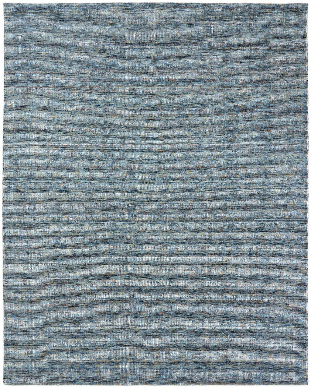 Virgo Mineral Blue Hand-Knotted Area Rug - AllRugs