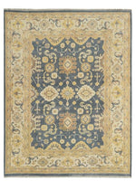 Load image into Gallery viewer, Moonrise Navy/Beige Hand-Knotted Area Rug - AllRugs