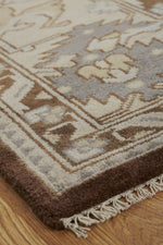 Load image into Gallery viewer, Moonrise Brown/Beige Hand-Knotted Area Rug - AllRugs