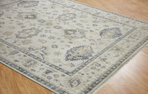 Moonrise White Hand-Knotted Area Rug - AllRugs