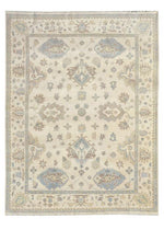 Load image into Gallery viewer, Moonrise White Hand-Knotted Area Rug - AllRugs