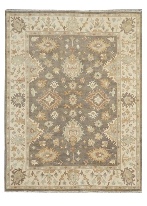 Moonrise Greige Hand-Knotted Area Rug - AllRugs
