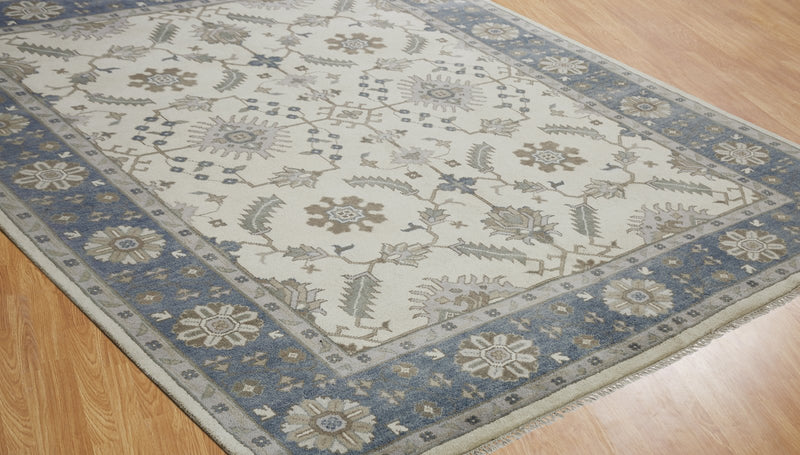 Moonrise Neige Hand-Knotted Area Rug - AllRugs
