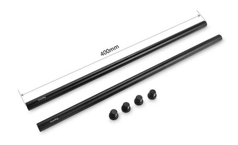 SmallRig #1054 Pair of 15mm Black Aluminum Alloy Rod