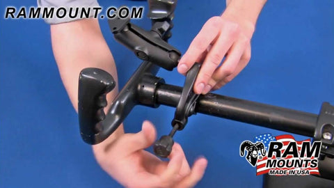 "RAM Mount Composite Yoke Clamp 1"" Ball Base"