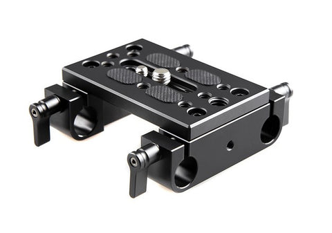 SmallRig #1775 Mounting Plate w/ Dual 15mm Rod Clamps