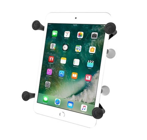 "RAM Mount Universal X-Grip II Tablet Cradle w/ 1"" Ball & tether"
