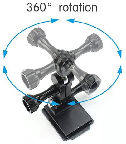 Aluminum Ball Head Mount for GoPro Cameras