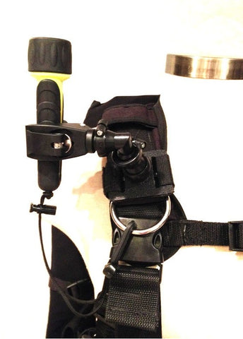 BCD Dive Light Mount