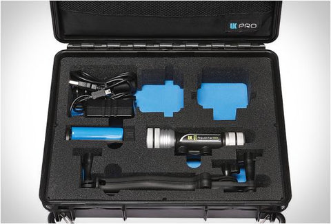 UKPro POV BlackPaK Light Kit & Hard Case for GoPro
