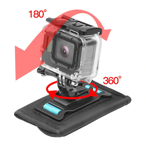 360 Degree Rotation Backpack Clip for GoPro