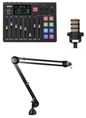 RodeCaster Pro PodCasting Bundle