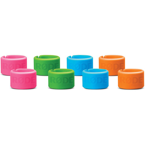 Rode XLR-ID Color-Coordinated XLR Rings (Set of 8)