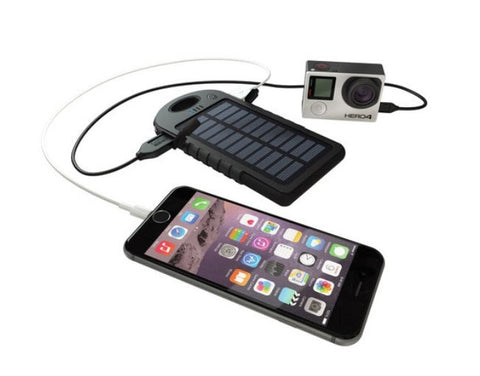 GoPole DualCharge Solar USB Charger
