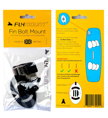 Flymount Fin Bolt Mount for GoPro