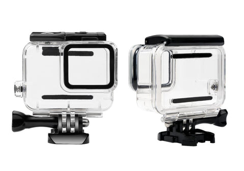 Waterproof Housing for Hero7 White & Silver