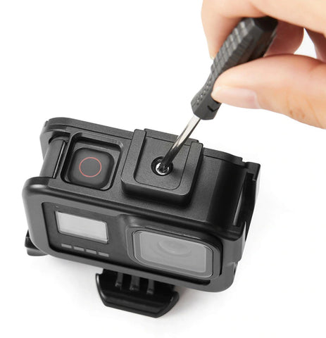 Aluminum Case for GoPro Hero8 Black