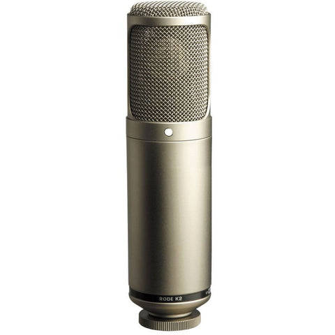 Rode K2 Variable Pattern Studio Tube Condenser Microphone