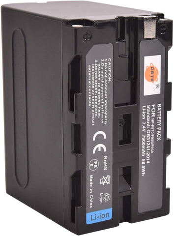 High Capacity NP-F970 Battery + Charger