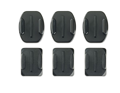 GoPro Flat + Curved Adhesive Mounts (6-pack)