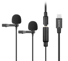 BOYA Digital Dual Lavalier Microphones for iOS devices