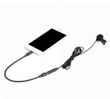 BOYA M2 Clip-on Lavalier Microphone for iOS devices