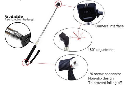 Telescopic Selfie Stick