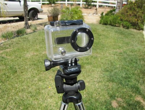 Aluminum Tripod QR Adapter for GoPro