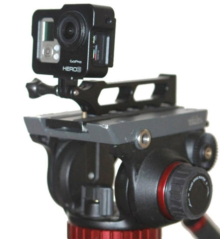 Grip & Cage Rig for GoPro