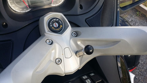 "Stainless Steel Bolt + 1"" RAM Ball for Can-Am Spyder"