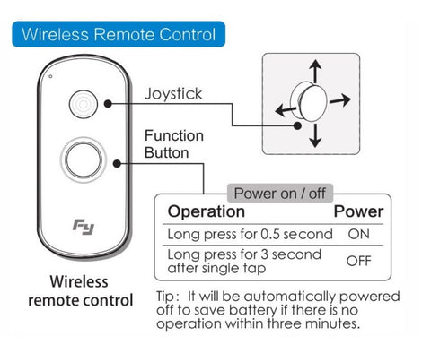 Feiyu Tech Wireless Remote Control