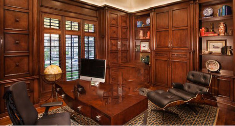 colonial office style metal decors