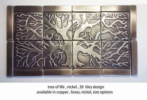 backsplash tiles tree of life 20 tiles
