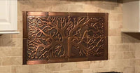 Tree of Life Kitchen Backsplash Tiles - set of 20