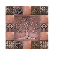 Tree of Life and Happiness Wall Tiles - Set of 17
