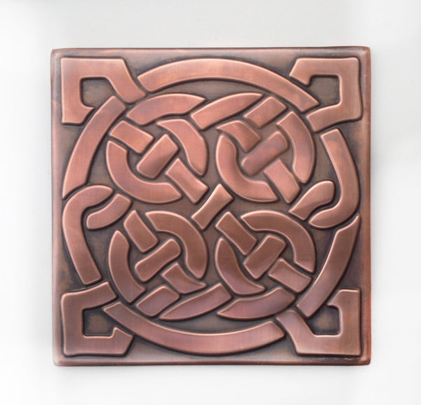 Celtic Knot Wall Tile - 1 pc