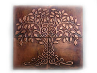 Tree of Life and Happiness Metal Wall Art - Set of 4