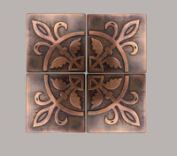 Gothic Design Decorative Tiles - Set of 4