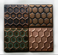 Honey Comb Design Tiles - Set of 4 Tiles