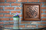 Leo Lion Zodiac Sign Copper Wall Art