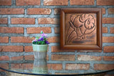 Aires Zodiac Sign Copper Wall Picture