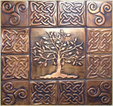 Tree of Life Celtic Tiles - set of 13
