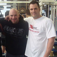 DJ Baum with Dana White